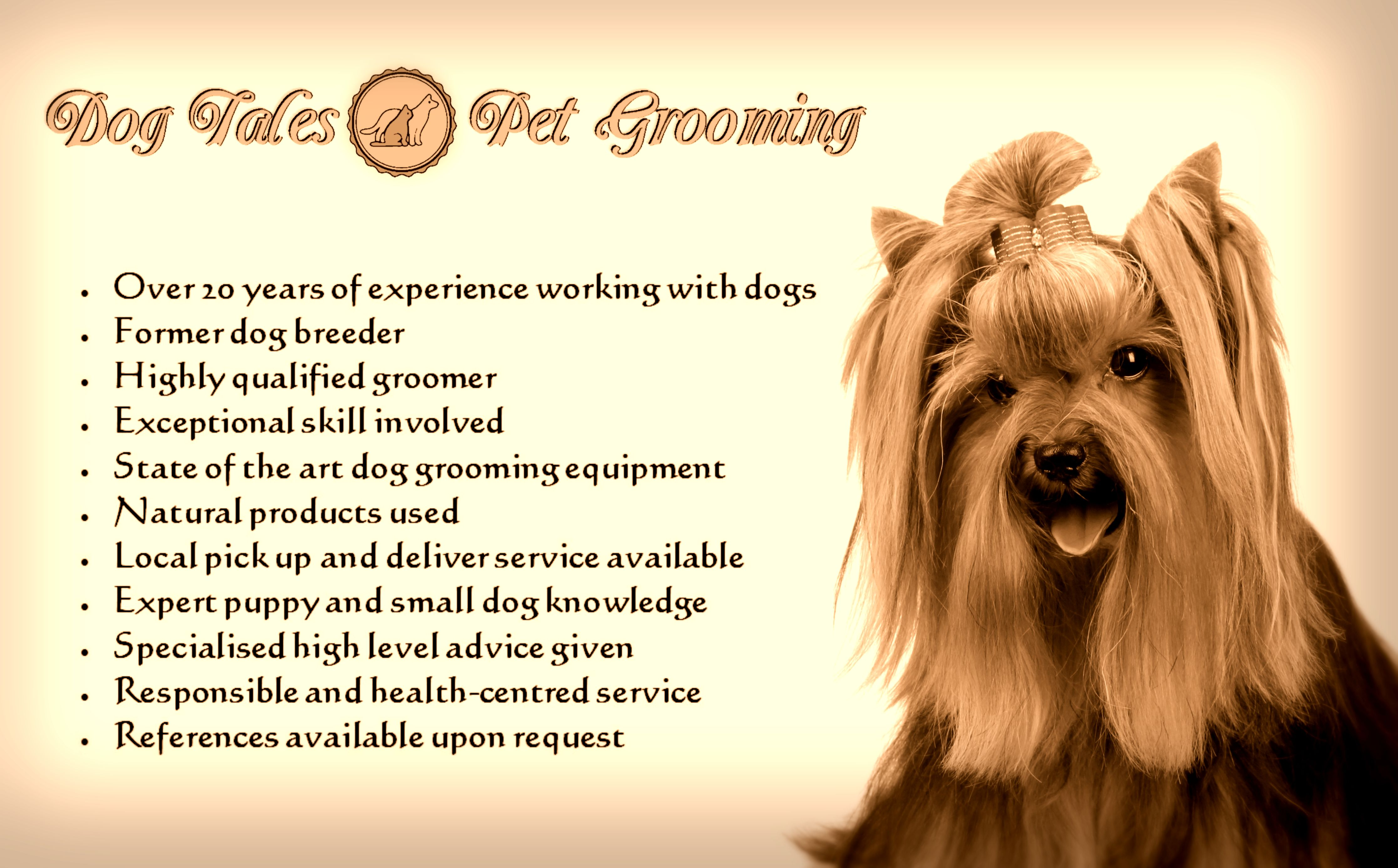 Prices Dog Tales Pet Grooming
